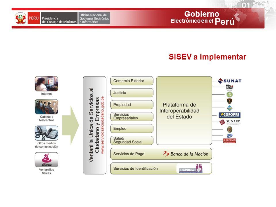 SISEV a implementar 48