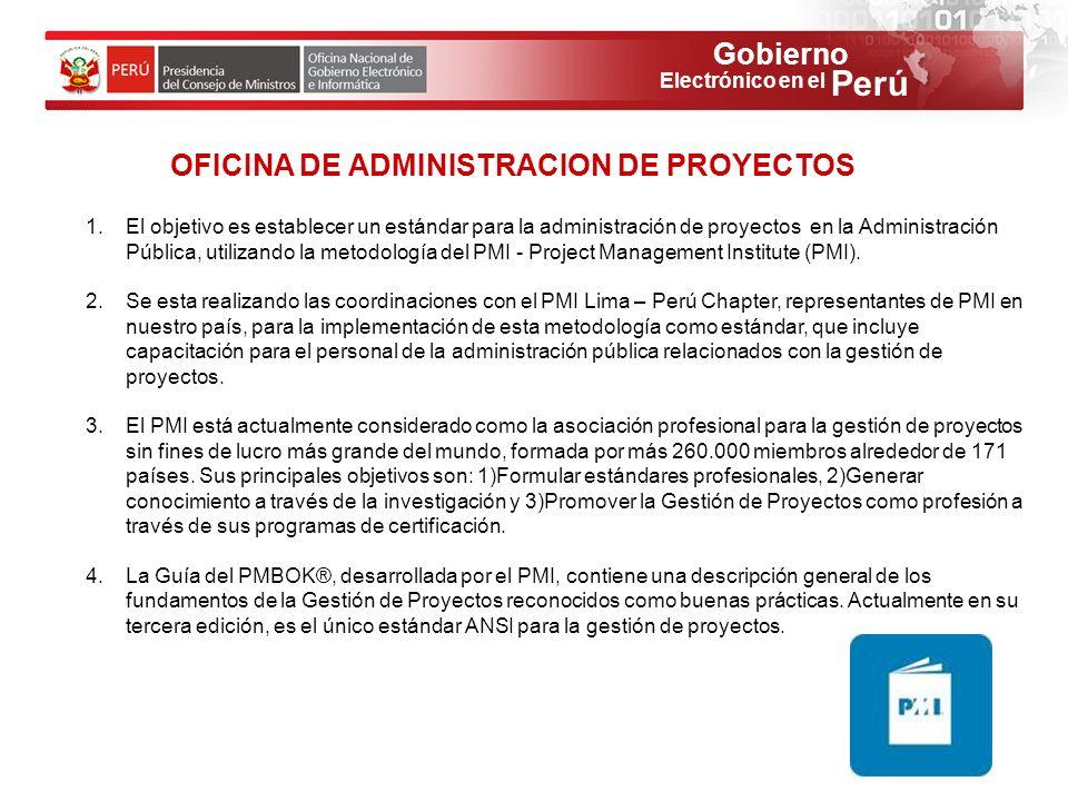 OFICINA DE ADMINISTRACION DE PROYECTOS