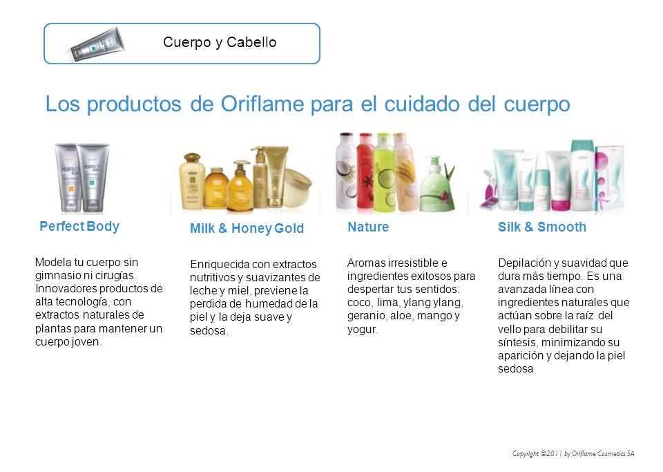 Los productos de Oriflame para el cuidado del cuerpo