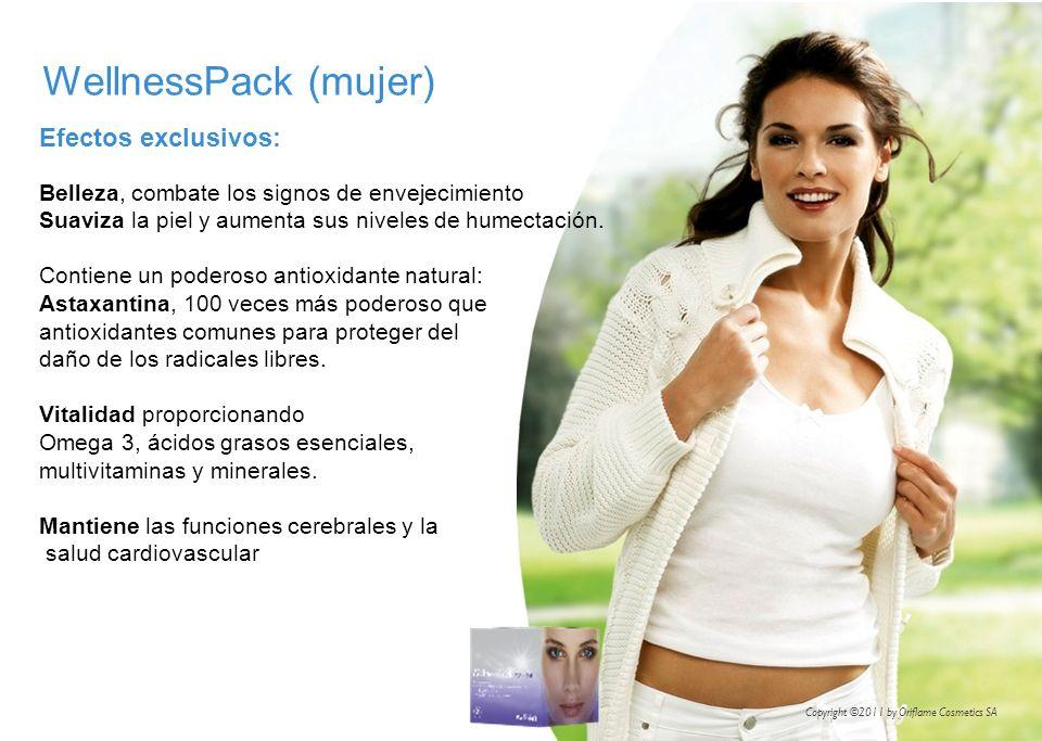 WellnessPack (mujer) Efectos exclusivos: