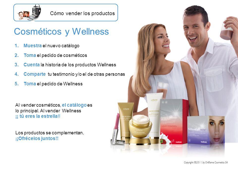Cosméticos y Wellness Cómo vender los productos
