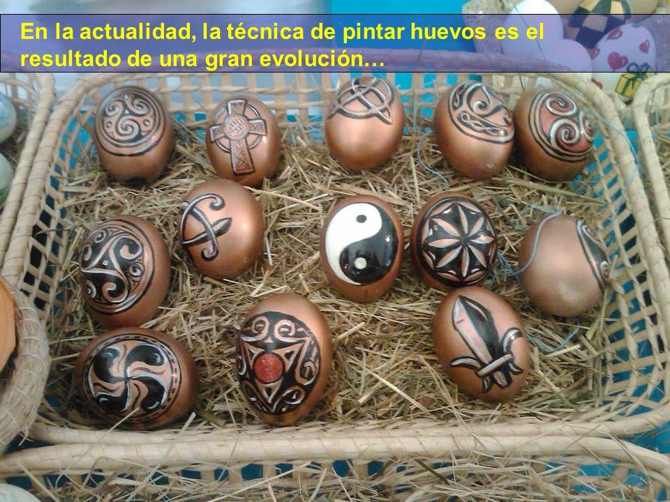 En la actualidad, la técnica de pintar huevos es el resultado de una gran evolución…