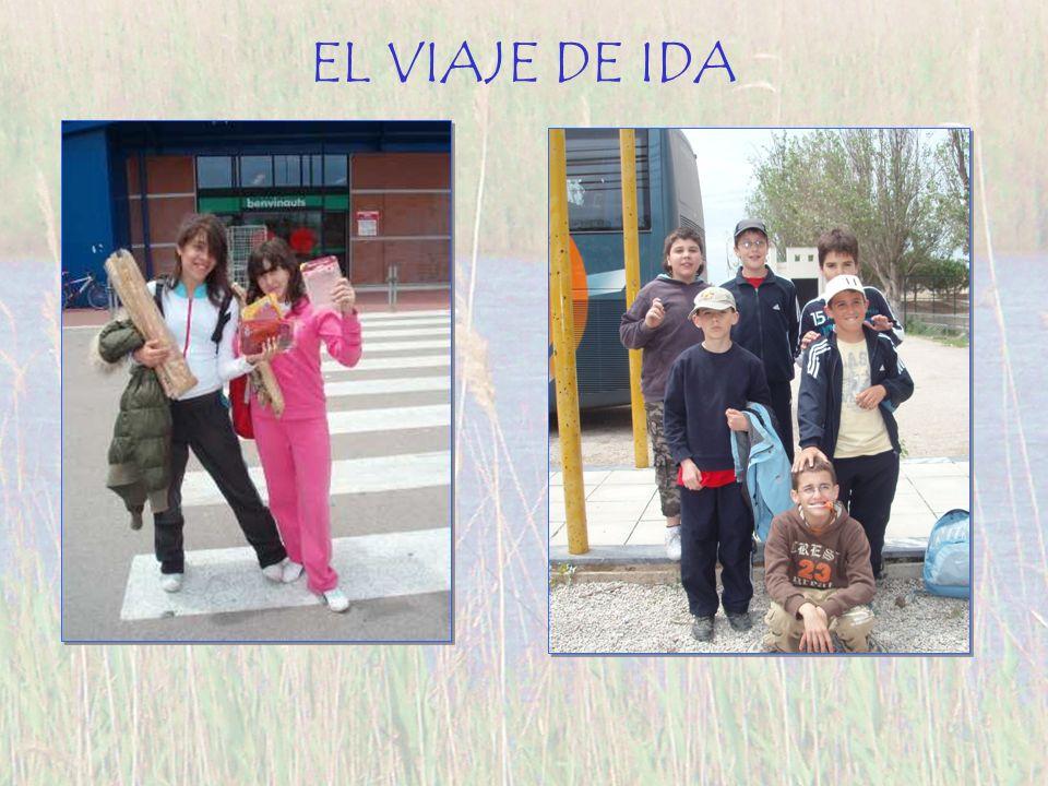 EL VIAJE DE IDA