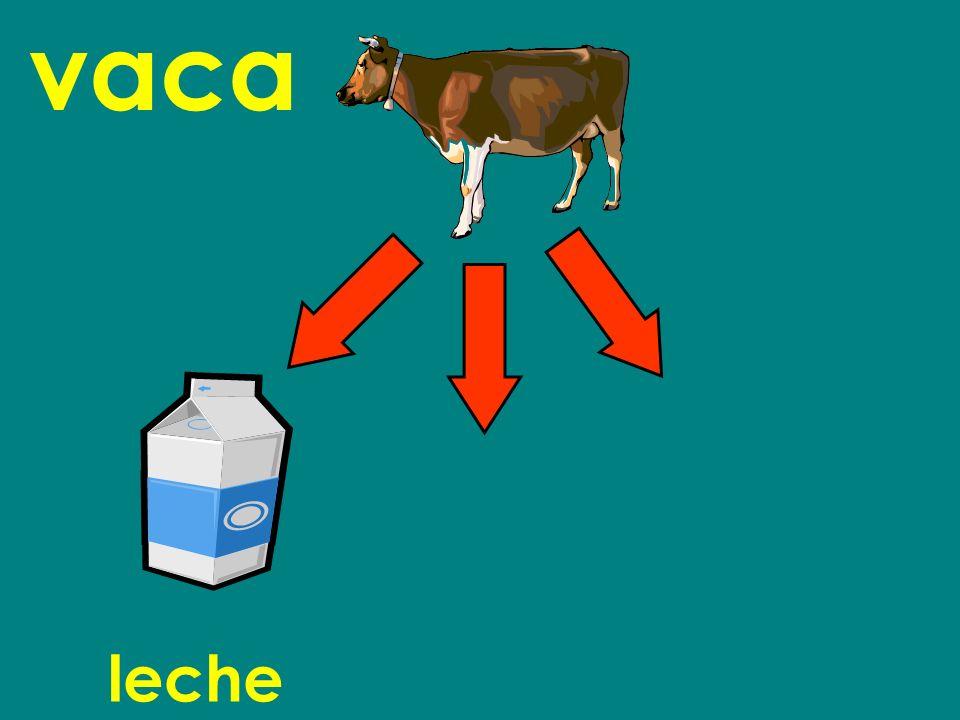 vaca leche