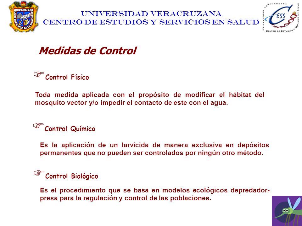 Medidas de Control Control Físico