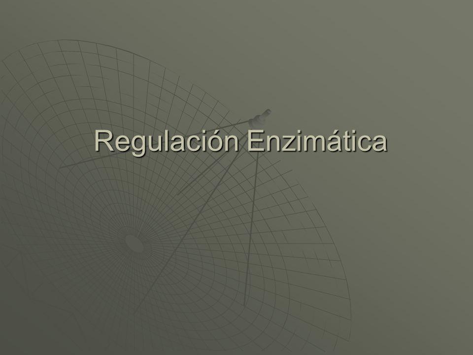 Regulación Enzimática