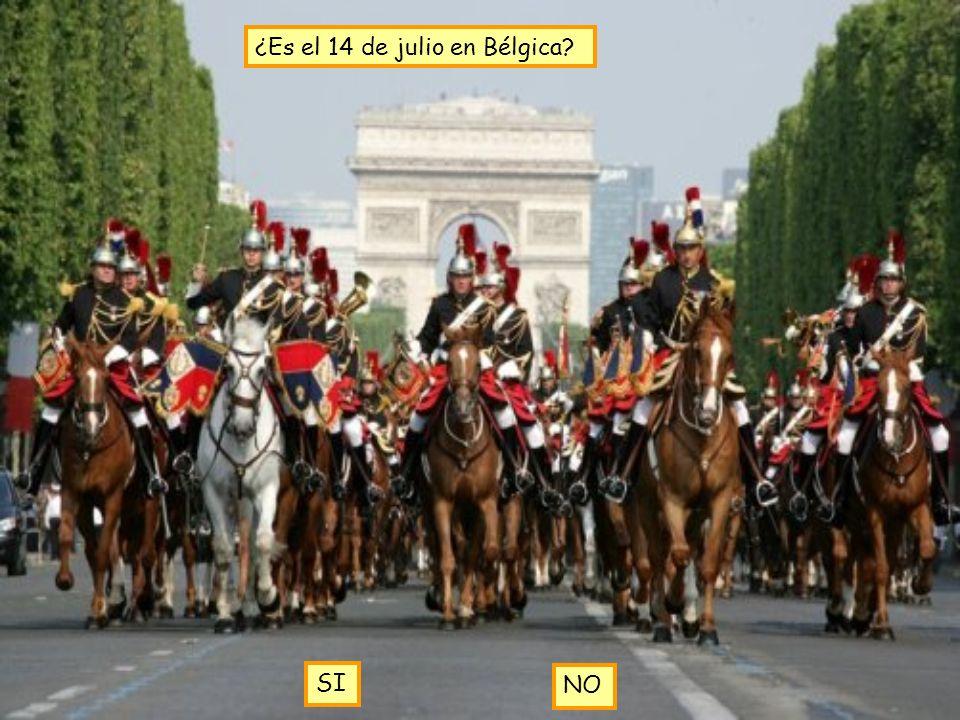 ¿Es el 14 de julio en Bélgica