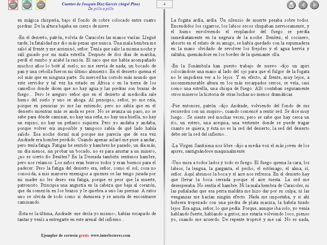 Cuentos de Joaquín Díaz Garcés (Angel Pino) De pillo a pillo 4