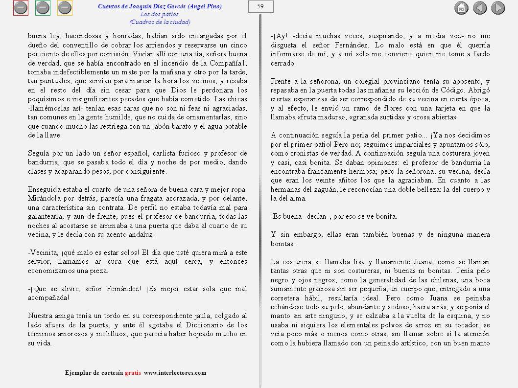 Cuentos de Joaquín Díaz Garcés (Angel Pino)