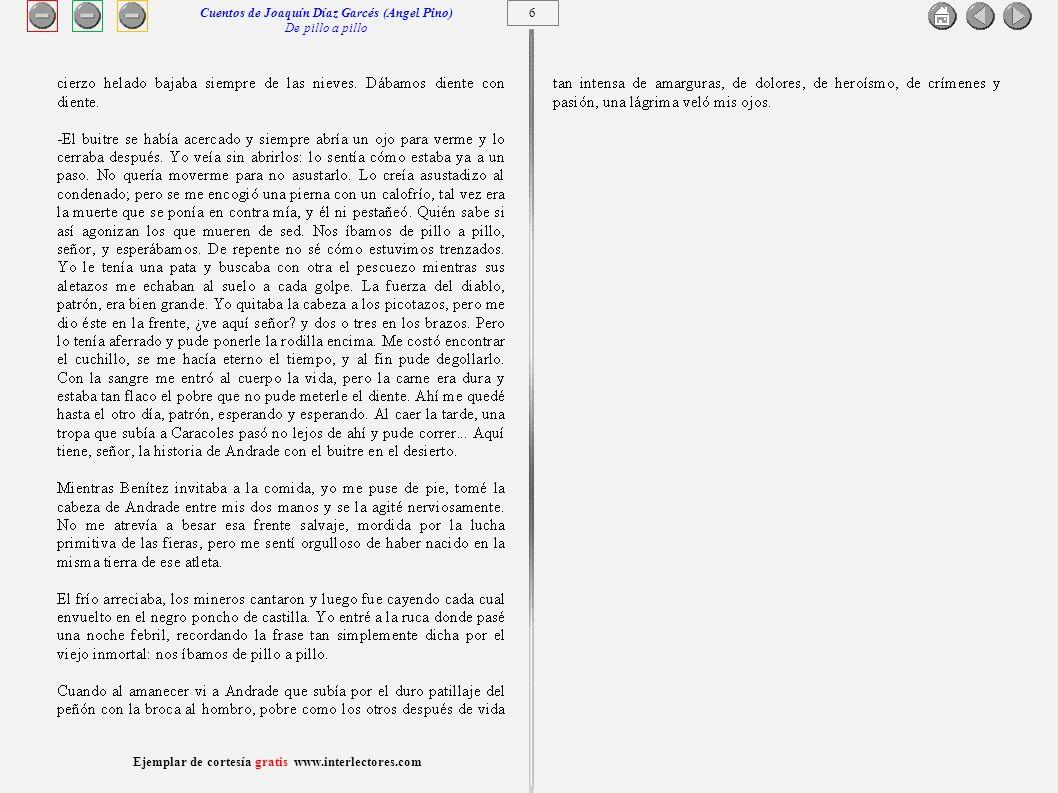 Cuentos de Joaquín Díaz Garcés (Angel Pino) De pillo a pillo 6