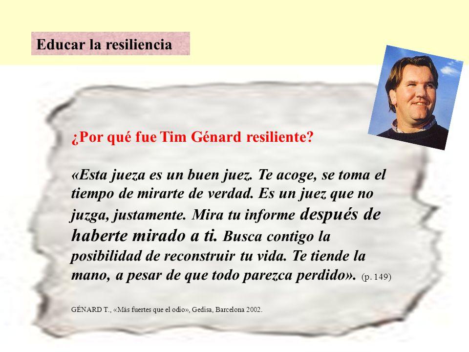 ¿Por qué fue Tim Génard resiliente