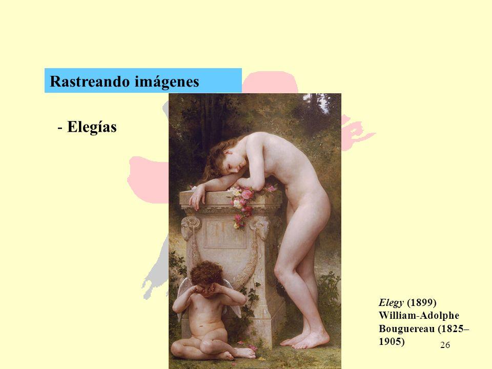 Rastreando imágenes Elegías Elegy (1899)