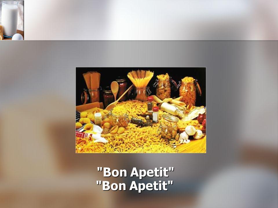 Bon Apetit Bon Apetit