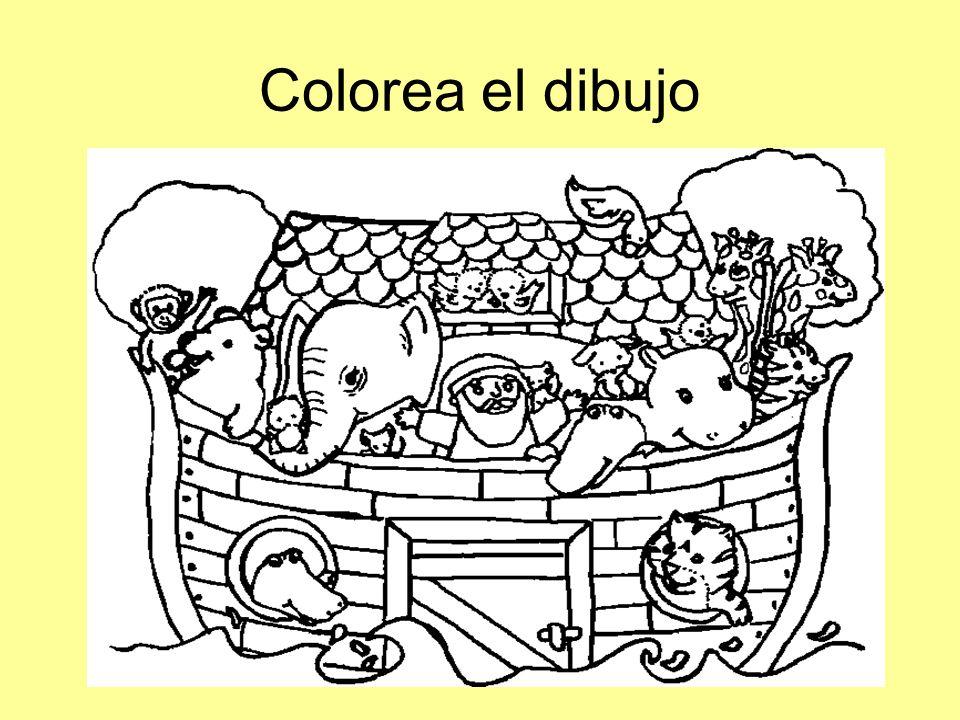 Colorea el dibujo