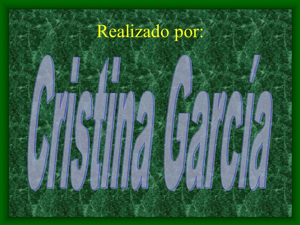 Realizado por: Cristina García