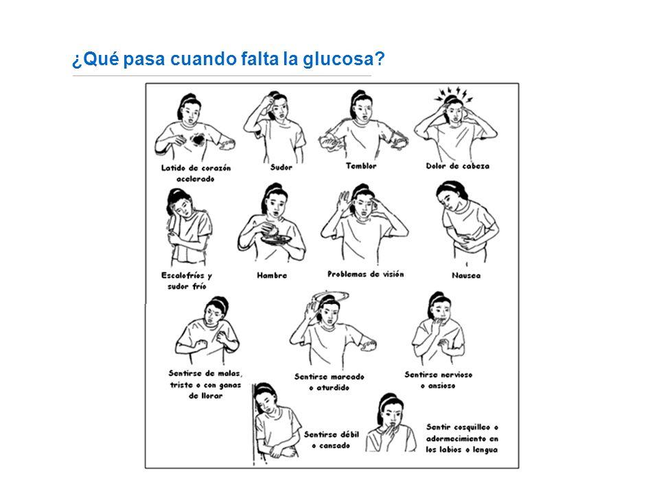 ¿Qué pasa cuando falta la glucosa