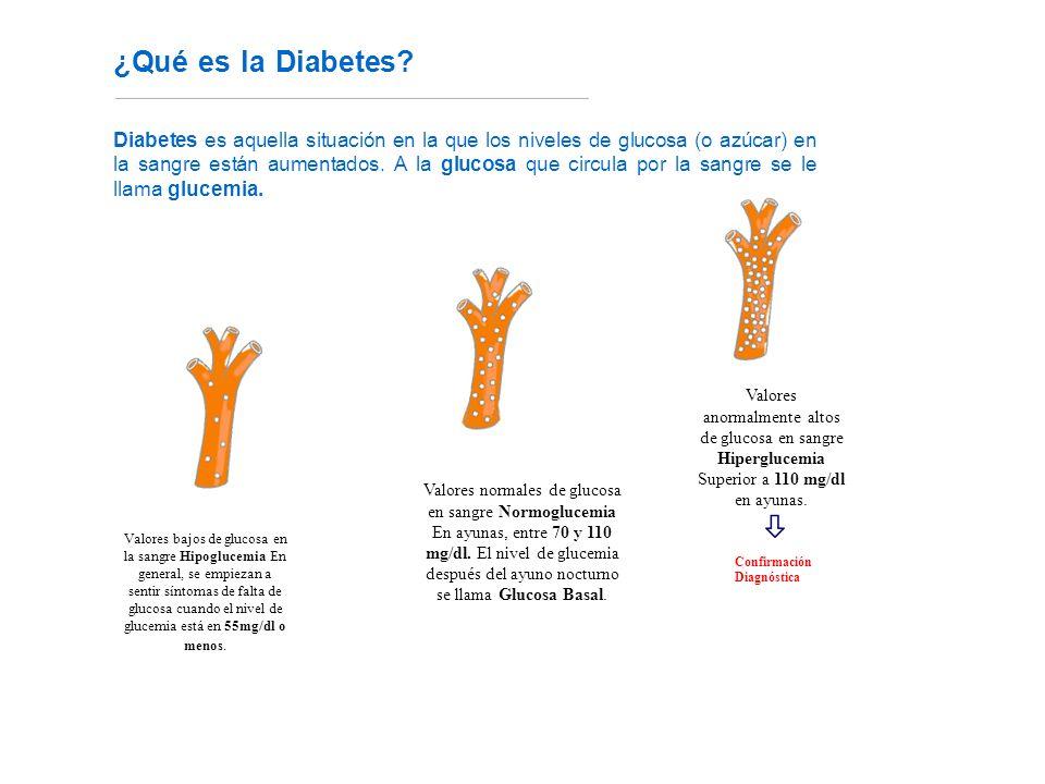 ¿Qué es la Diabetes