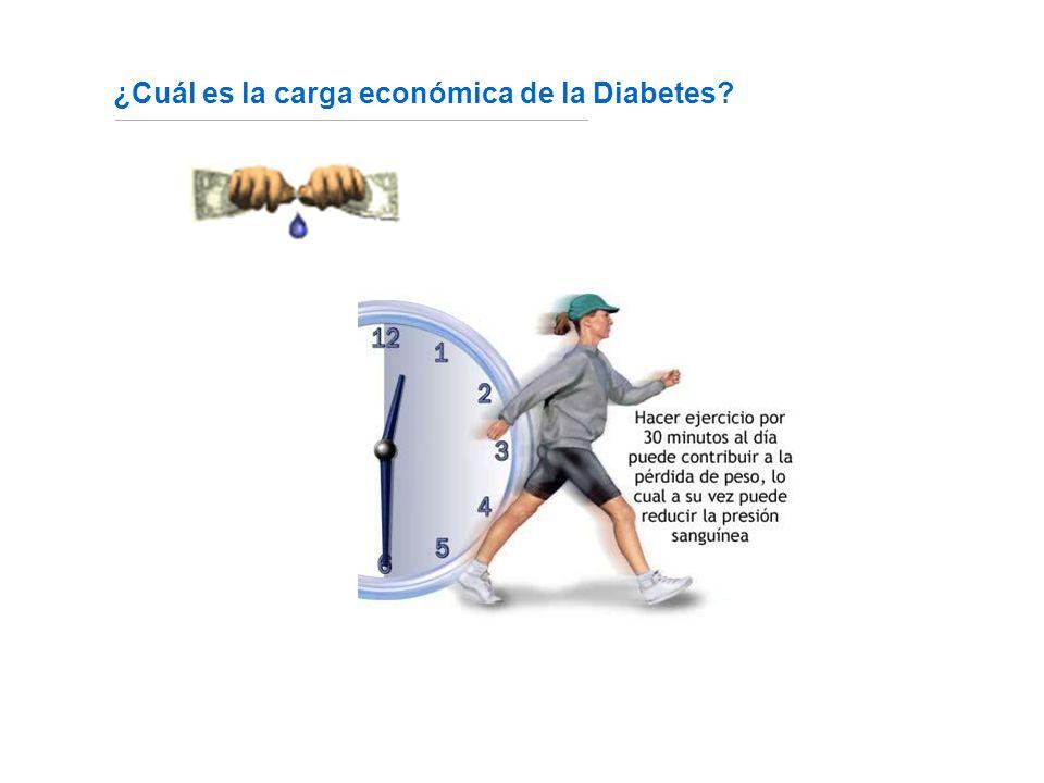 ¿Cuál es la carga económica de la Diabetes