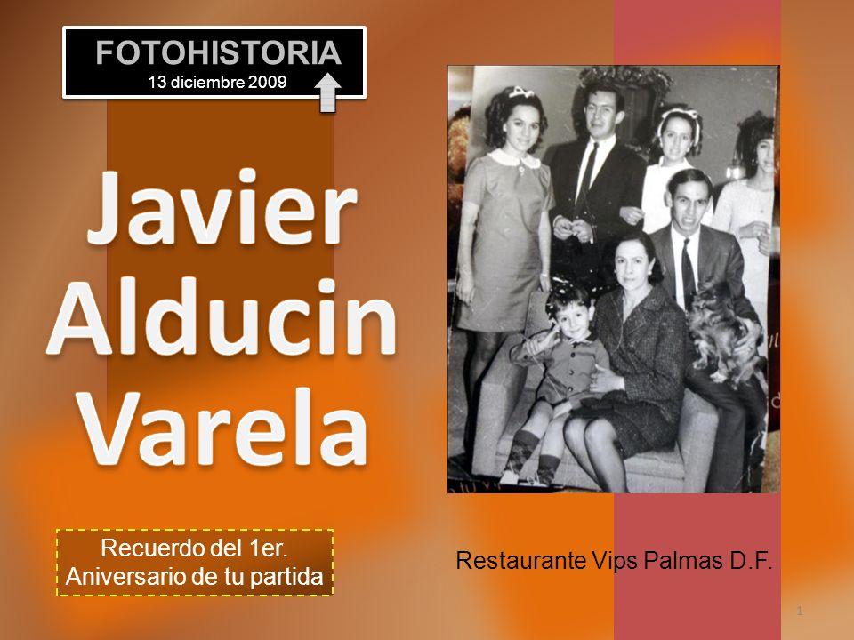 Javier Alducin Varela FOTOHISTORIA 13 diciembre 2009