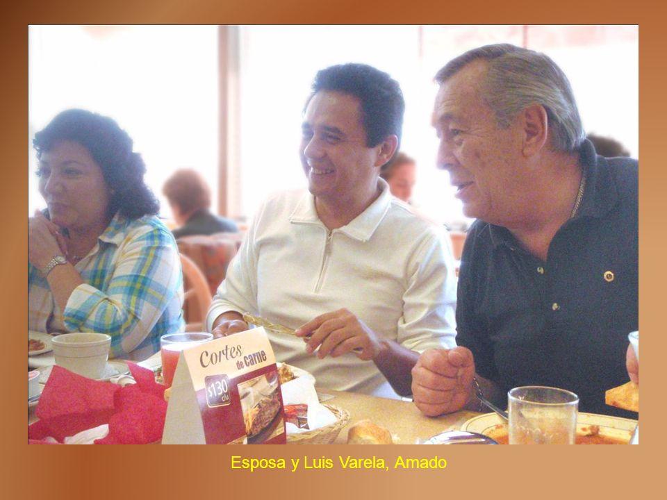Esposa y Luis Varela, Amado