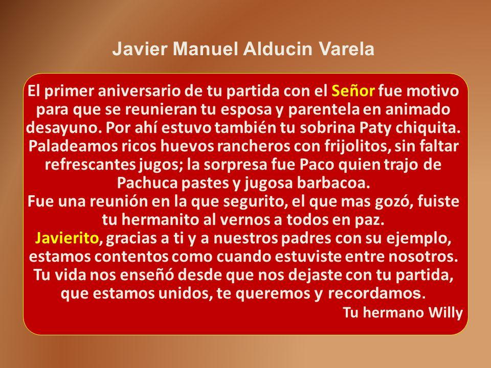 Javier Manuel Alducin Varela