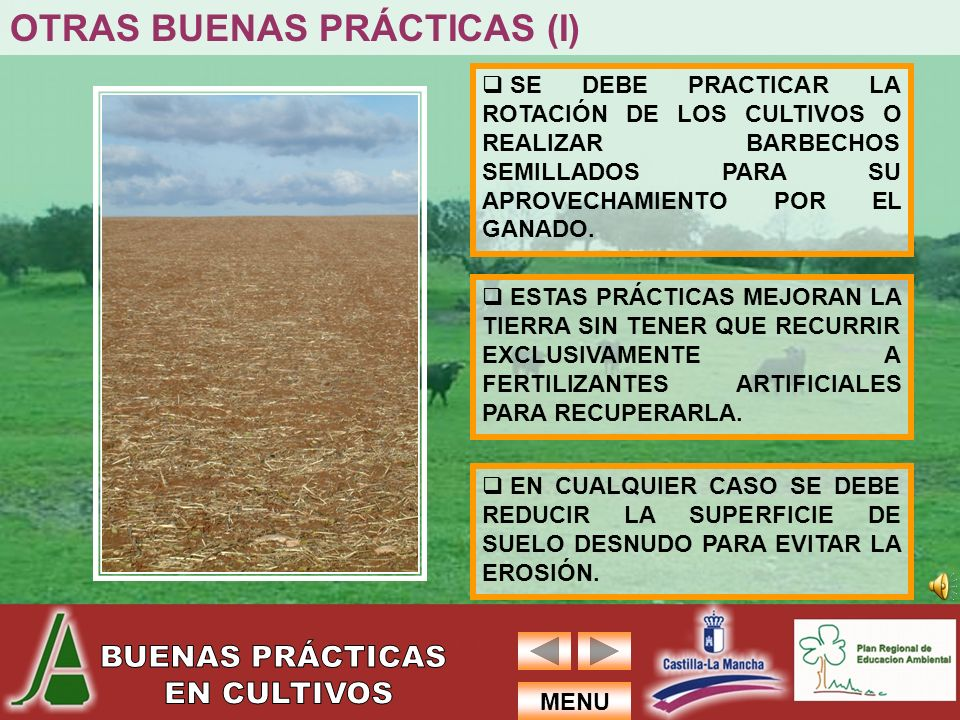OTRAS BUENAS PRÁCTICAS (I)