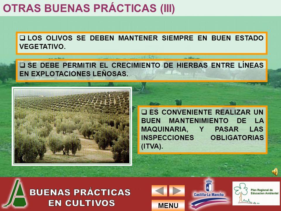 OTRAS BUENAS PRÁCTICAS (III)
