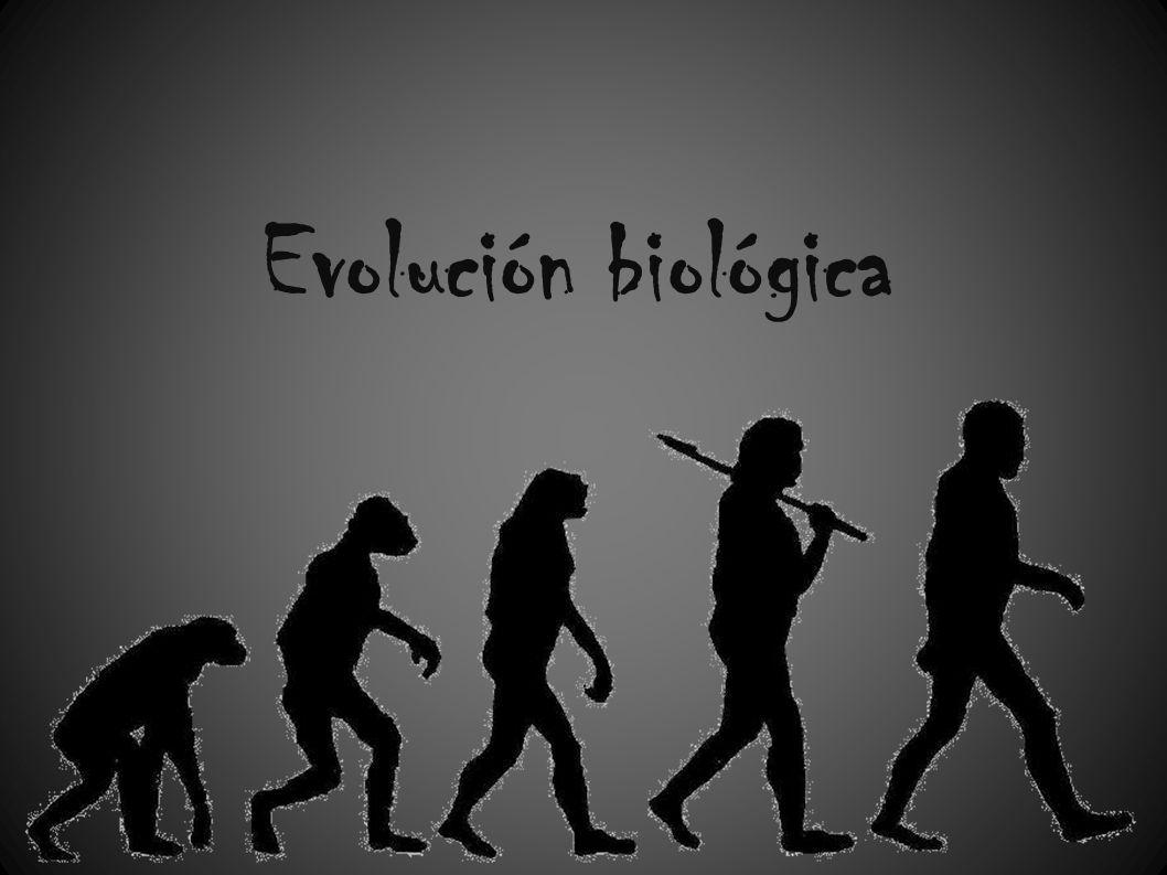 Evolución biológica