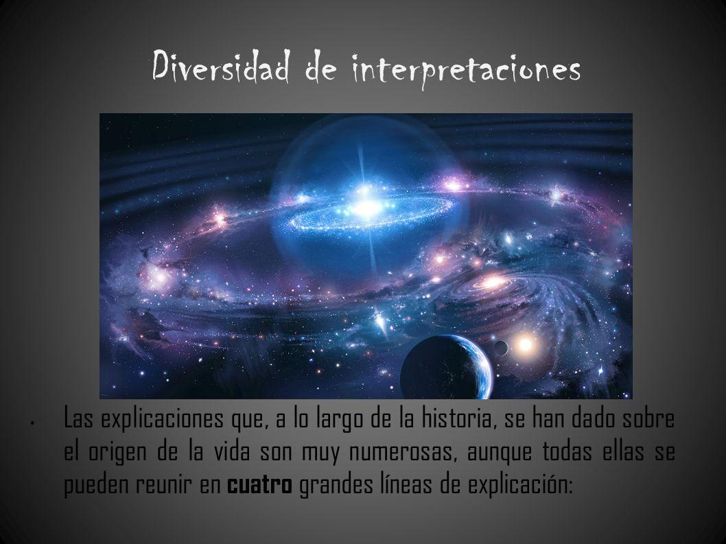 Diversidad de interpretaciones