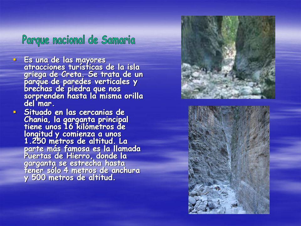 Parque nacional de Samaria