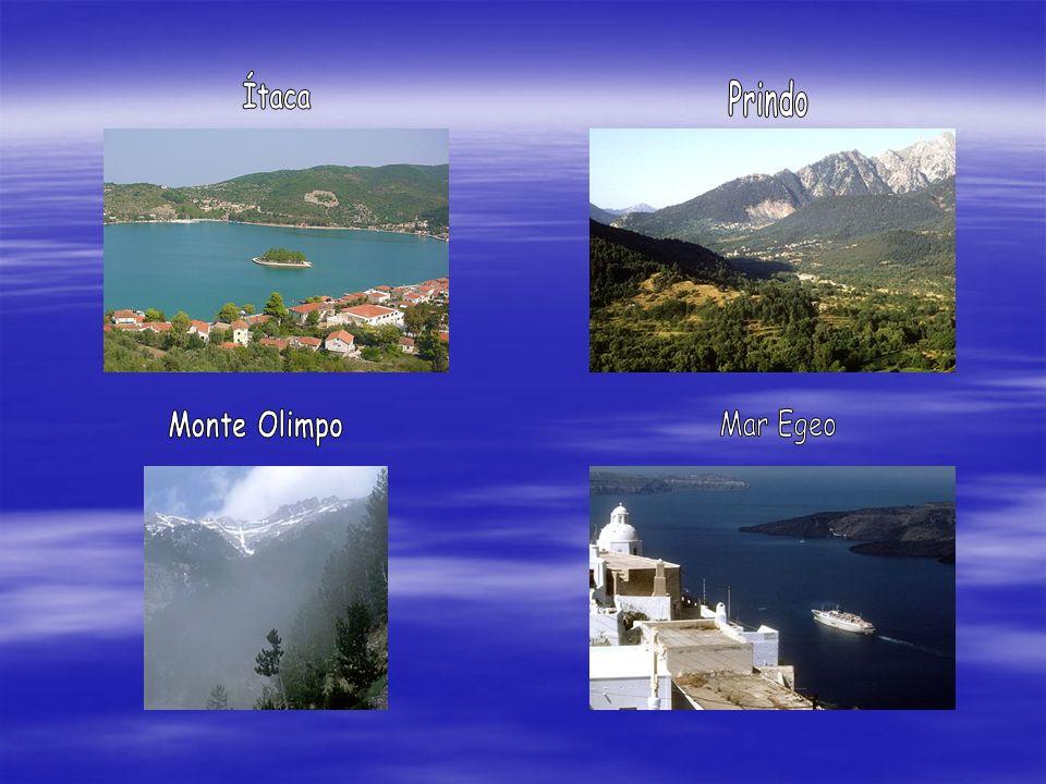Ítaca Prindo Monte Olimpo Mar Egeo