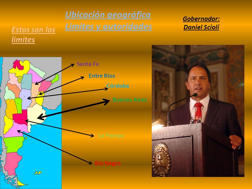Ubicación geográfica Limites y autoridades Estos son los limites