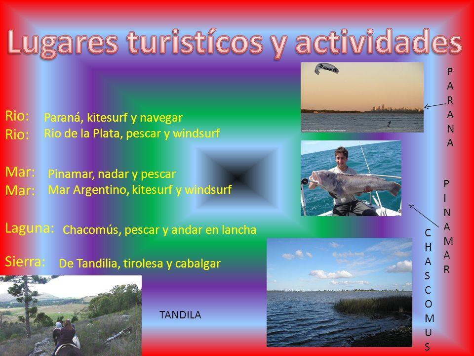 Lugares turistícos y actividades