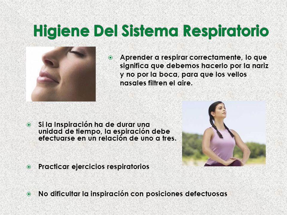 Higiene Del Sistema Respiratorio