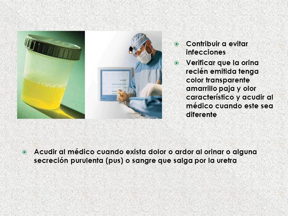 Contribuir a evitar infecciones