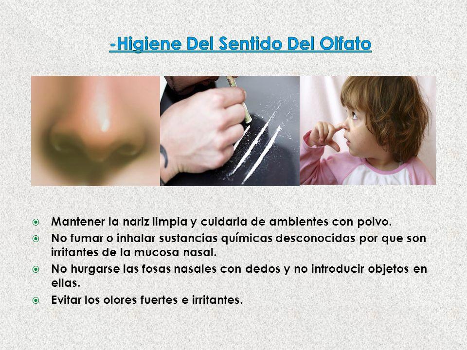 -Higiene Del Sentido Del Olfato