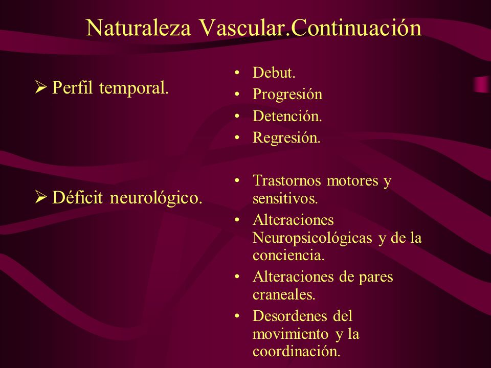 Naturaleza Vascular.Continuación