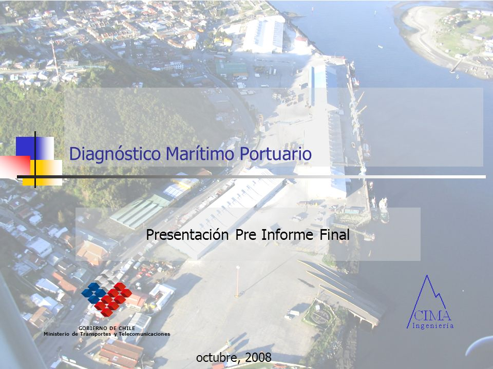 Diagnóstico Marítimo Portuario