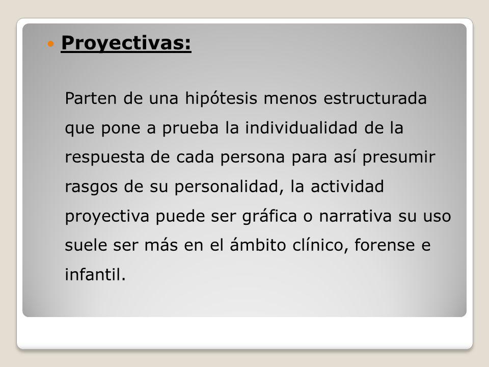 Proyectivas: