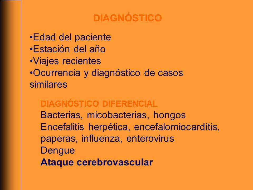 Ocurrencia y diagnóstico de casos similares