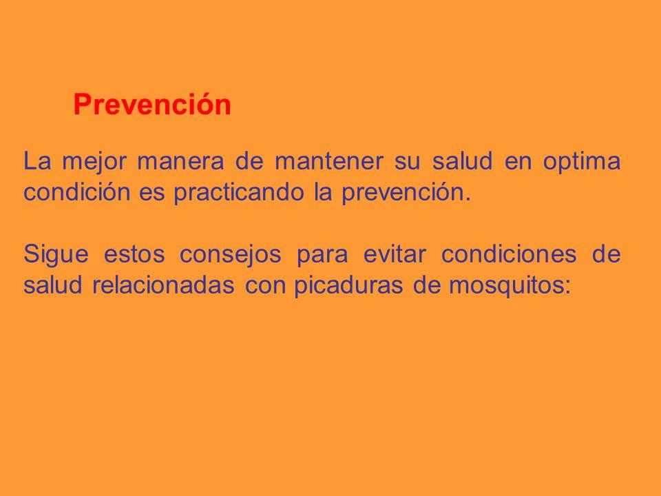 La mejor manera de mantener su salud en optima condición es practicando la prevención.