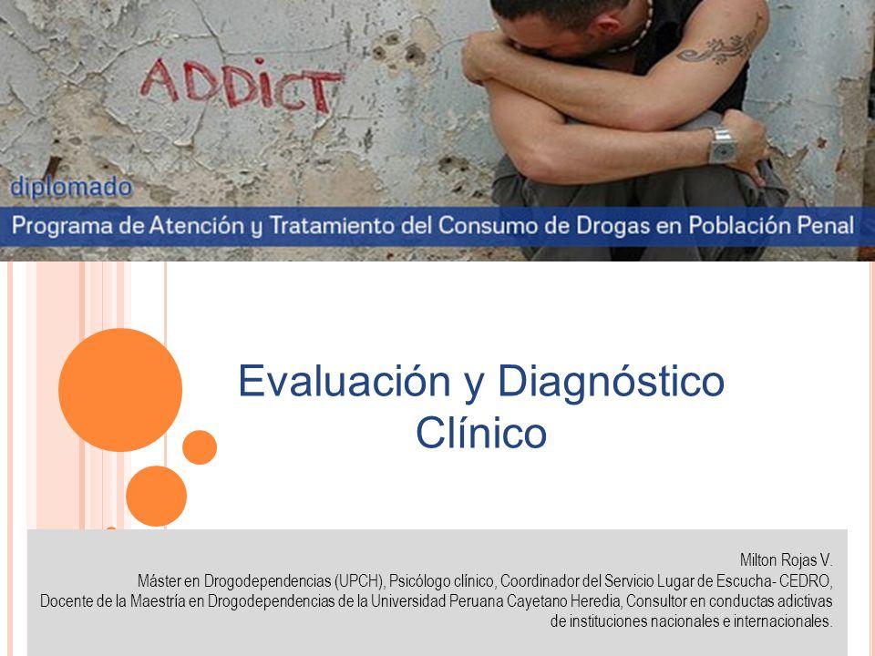 Evaluación y Diagnóstico Clínico