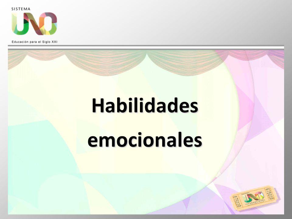 Habilidades emocionales