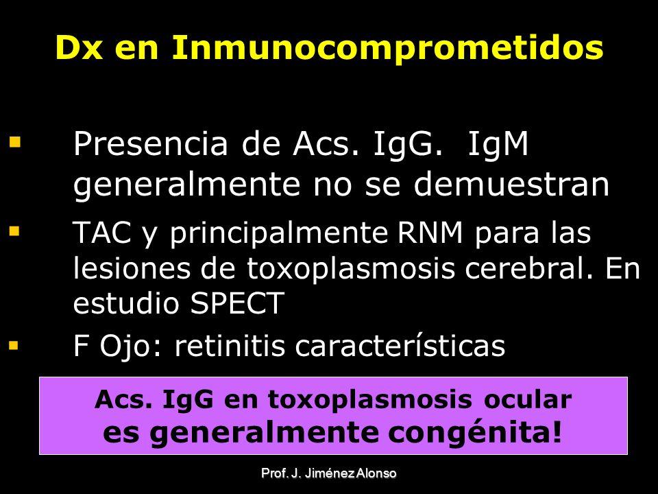Dx en Inmunocomprometidos