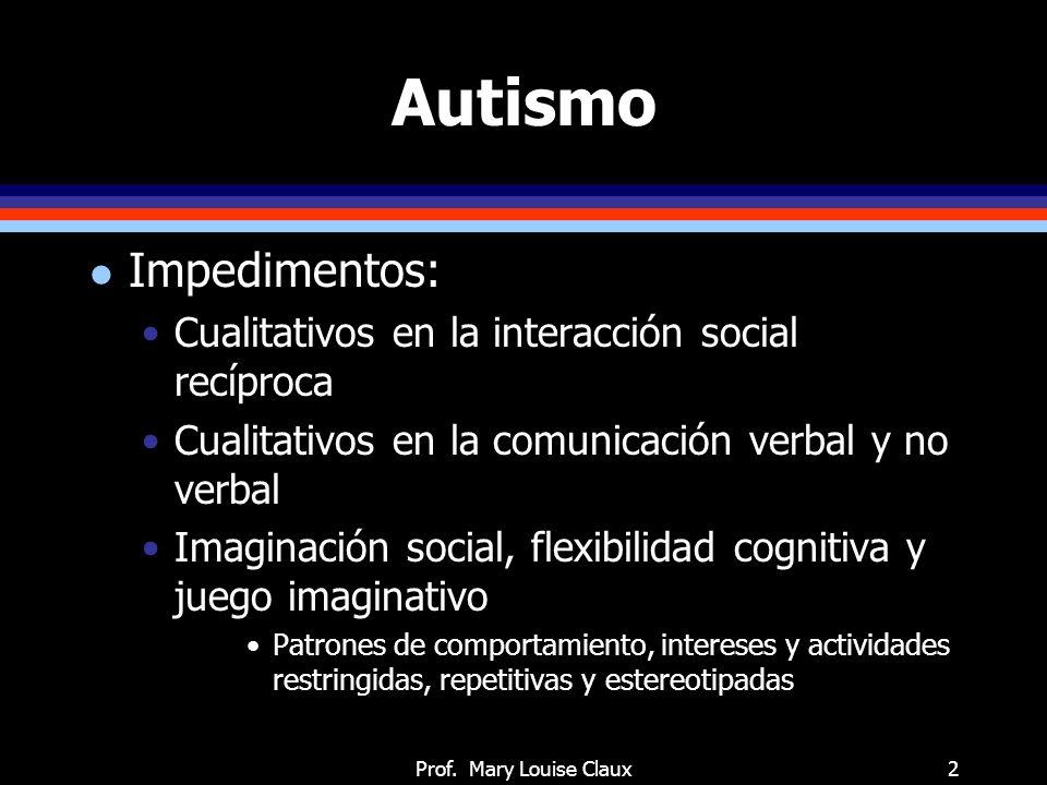 Autismo: señales en primeros meses