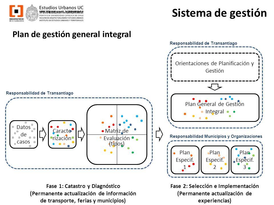 Sistema de gestión Plan de gestión general integral z Datos de casos