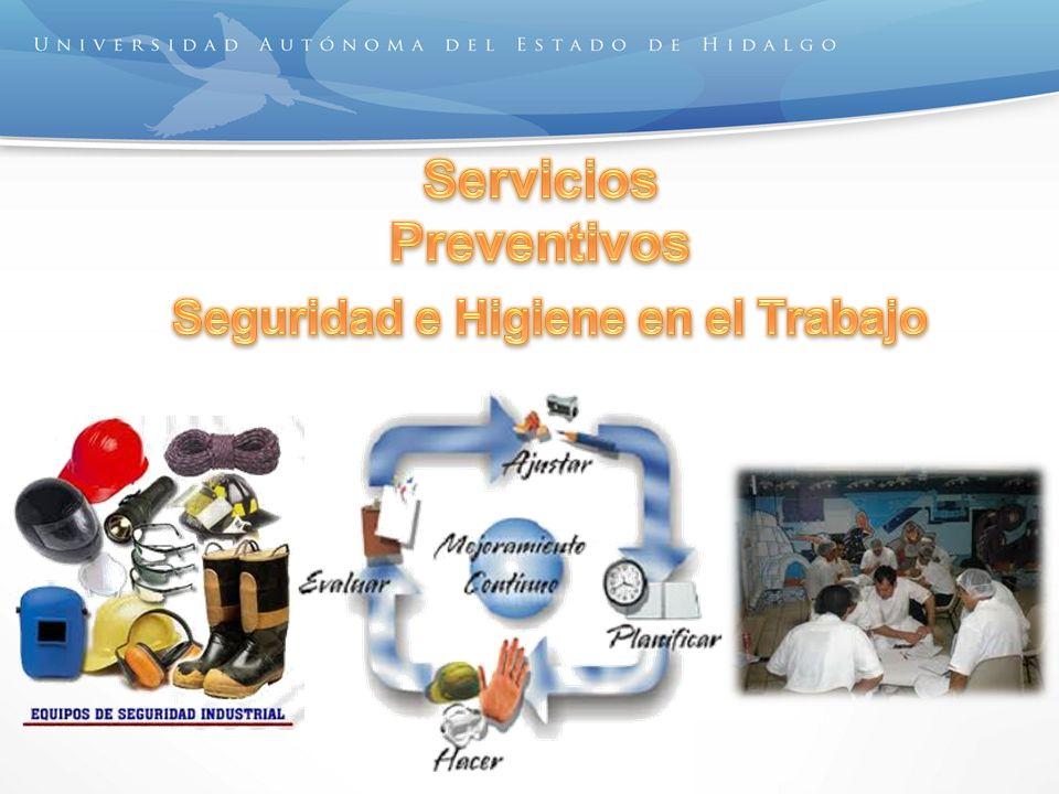 Servicios Preventivos Seguridad e Higiene en el Trabajo