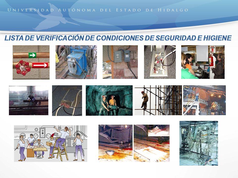 Lista de verificación de Condiciones de Seguridad e Higiene