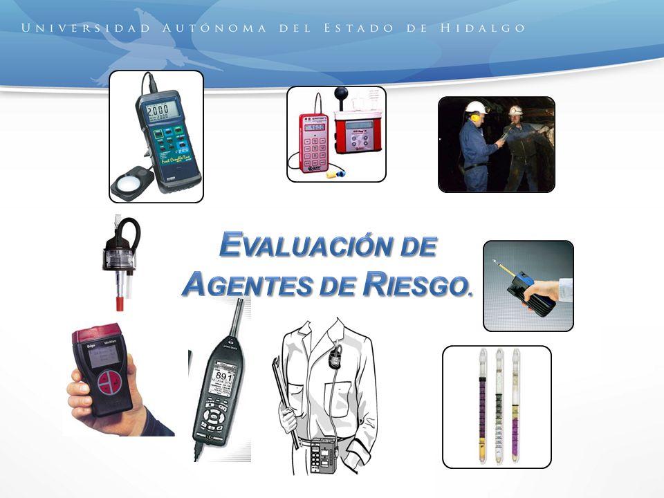 evaluación de Agentes de Riesgo.