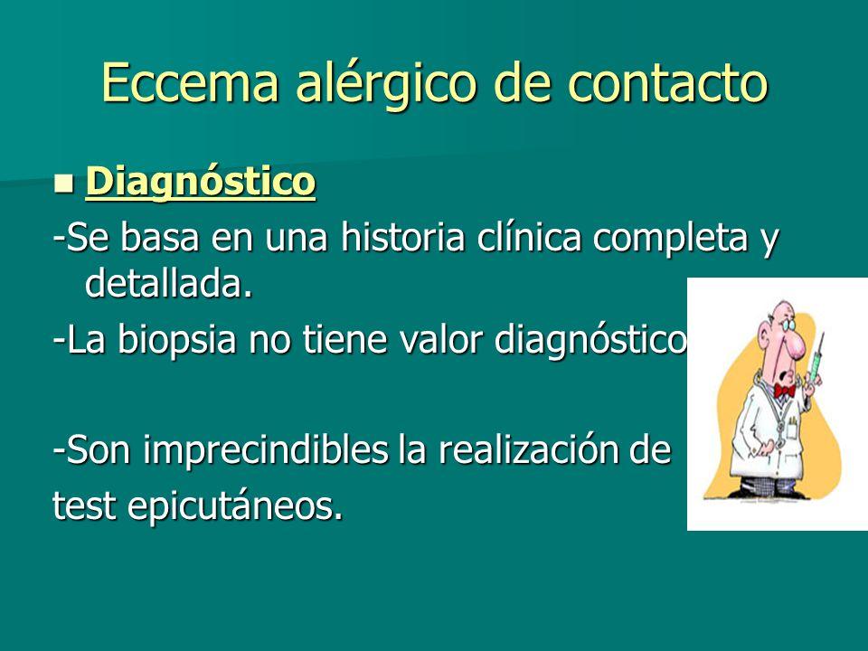 Eccema alérgico de contacto